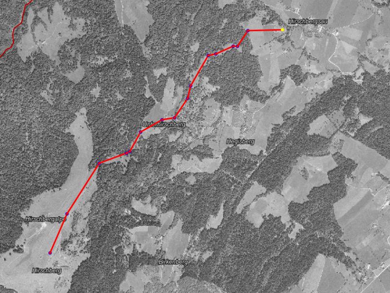 Hirschberg-Abfahrtslauf bis 1944
