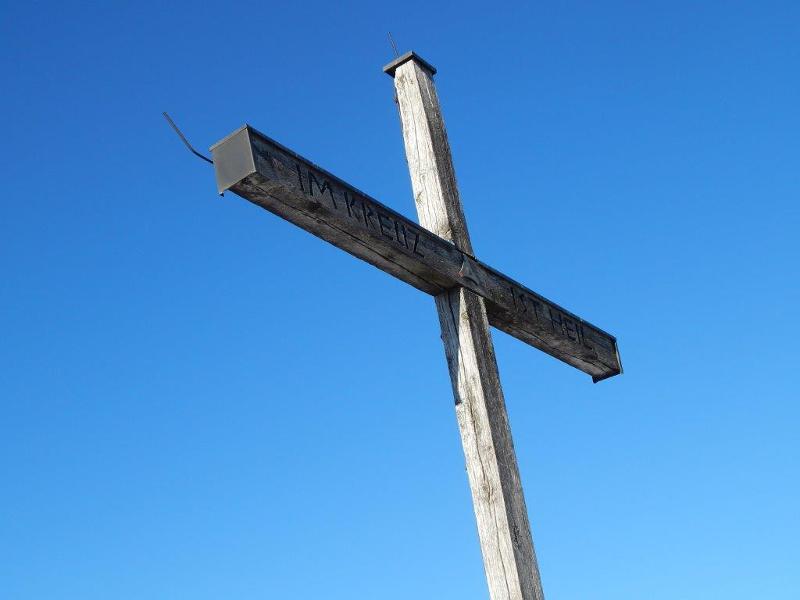 Hirschberg - Gipfelkreuz-1