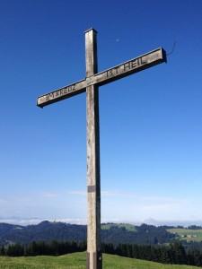 Hirschberg - Gipfelkreuz