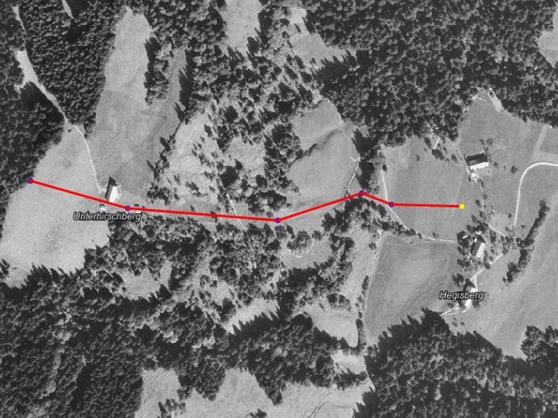 Hirschberg-Riesentorlauf Unterhirschberg-Hegisberg