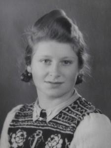 Luise Jaretz 1945