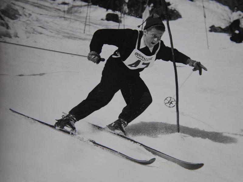 Luise Jaretz Zermatt 1952