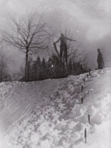 Skispringen 1930er Jahre Thal Au-2