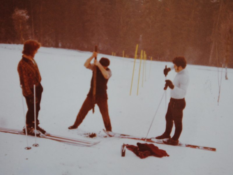 Training Hausberg - Langenstein 1973